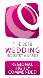 Highly Commended in the Wedding Industry Awards